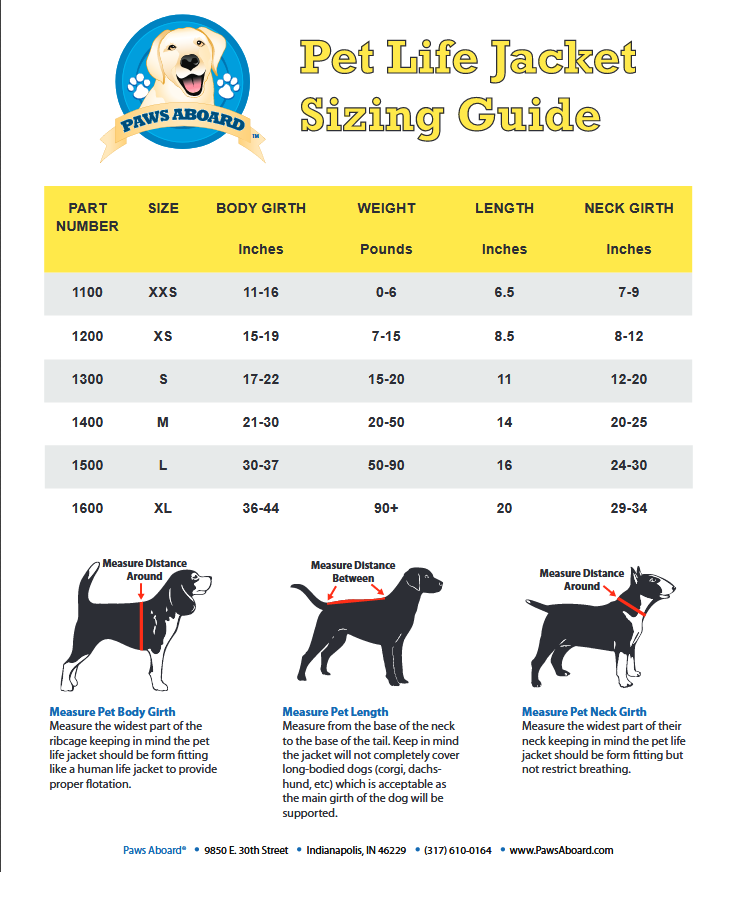 Life Vest Guide For Dogs